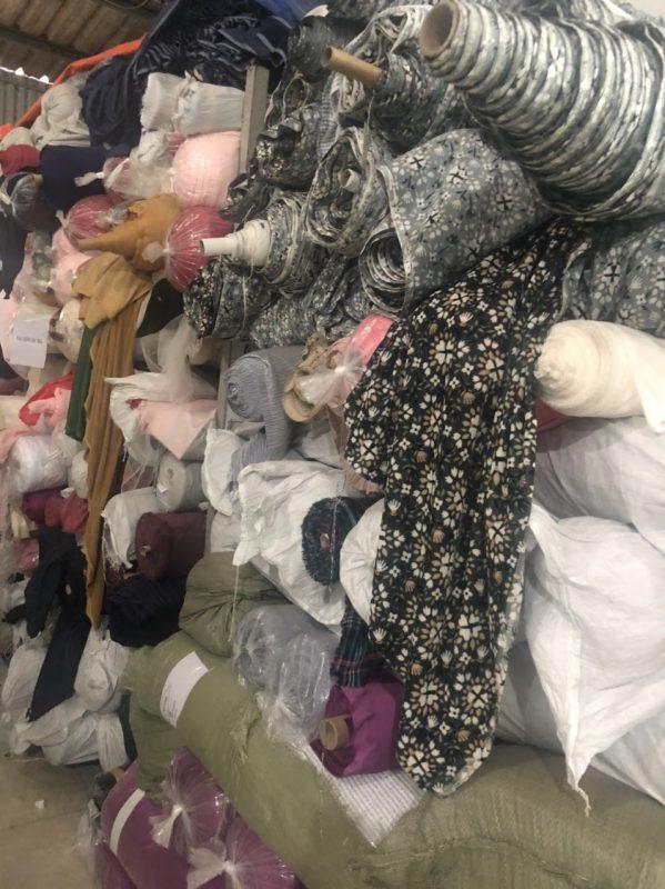 Giặt tẩy vải phế liệu