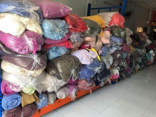 Các loại vải được thu mua làm phế liệu