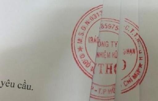 Một ví dụ cụ thể về dấu mộc giáp lai hợp pháp trong hợp đồng